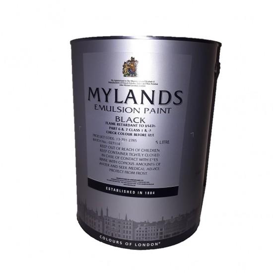 Mylands Black Fire Retardant Emulsion 5L