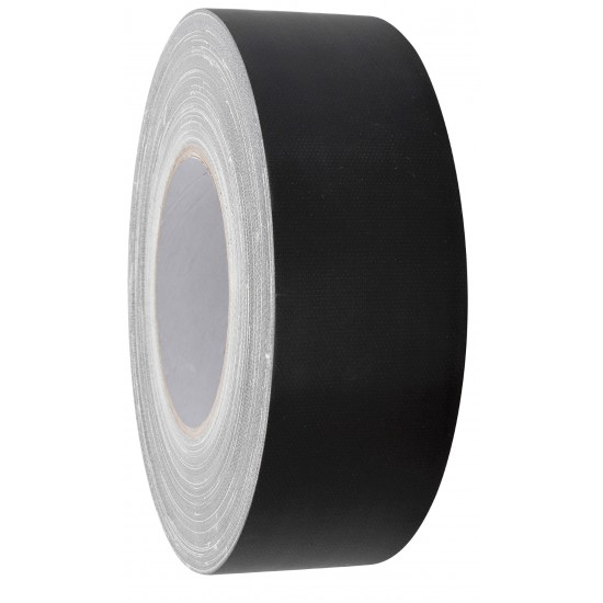 GAFFER-TAPE 50MM X 50M BLACK MATT